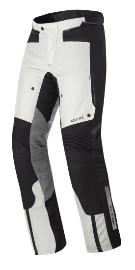 Pantaloni moto Rev'it Defender Pro GTX Grigio Nero Allungato