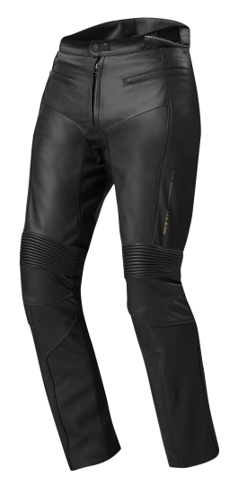 Pantaloni moto donna Rev'it Marryl Evo Ladies Nero Accorciato