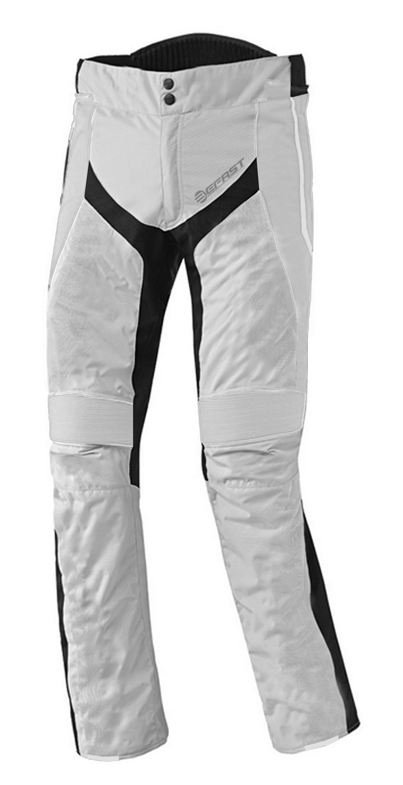 Pantaloni moto touring Befast Delta Grigio