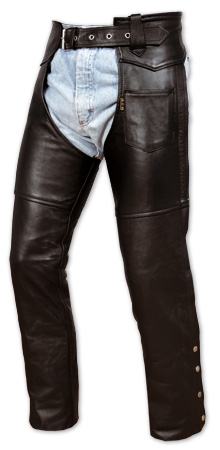 A-PRO Leather Chaps
