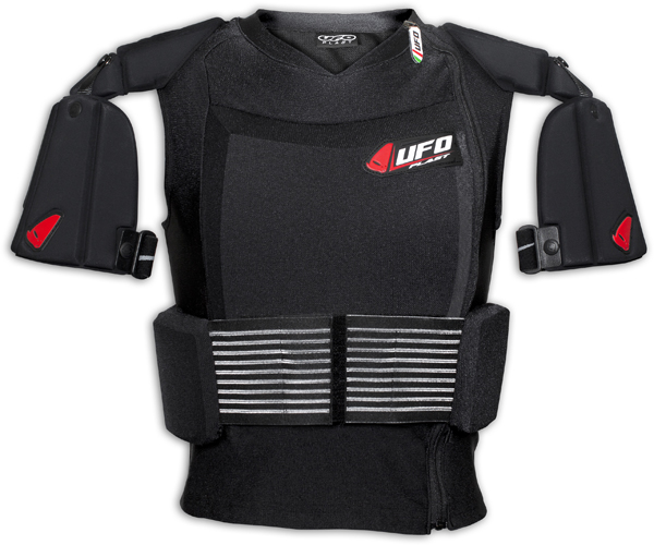 UFO Cyborg bib with straps Black