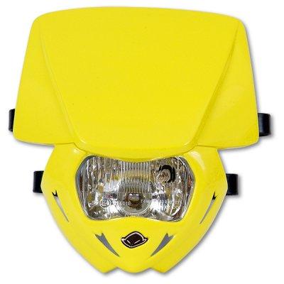 Headlight monochrome UFO Yellow Panther