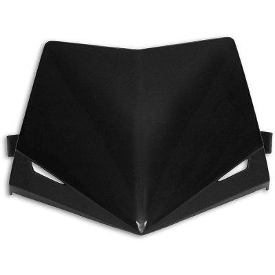 Ufo replacement plastic Stealth headlight - upper part - Black