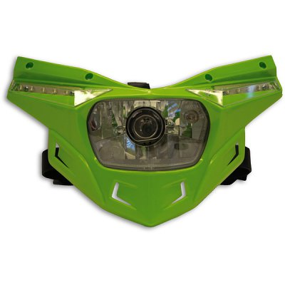 Ufo replacement plastic Stealth headlight - lower part - Green