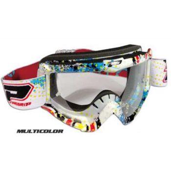 Occhiali moto cross enduro Progrip 3303 graphic line Multicolor