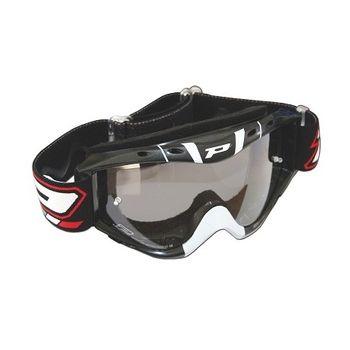 Occhiali moto cross con lente fotocromatica Progrip 3400 Nero