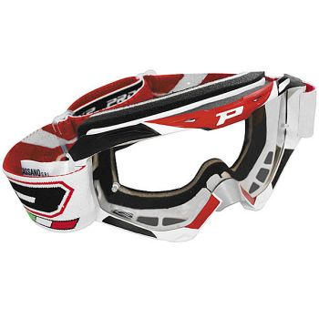 Progrip 3450 stealth off road fotochromic lens goggles Red