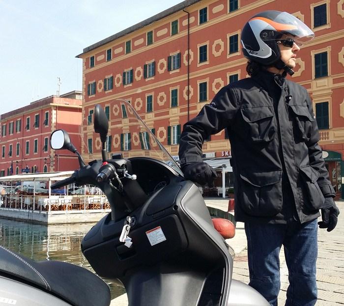 Giacca moto Befast Phanter City Nero