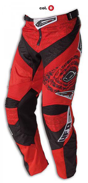 Ufo Plast Mx-22 enduro pants red