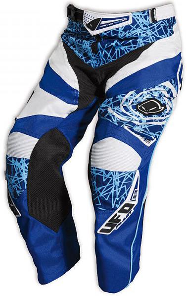 Pantaloni cross bambino Ufo Plast Mx-22 Boy blu