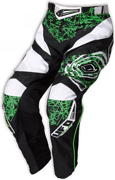 Pantaloni cross bambino Ufo Plast Mx-22 Boy verdi