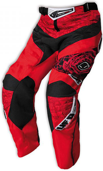 Ufo Plast Mx-22 Boy kid enduro pants red