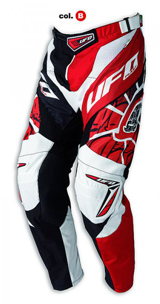 Ufo Plast Made in Italy 2012 Eclipse enduro pants red-black