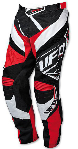 Pantaloni cross UFO MX-23 Micron Pants Rosso