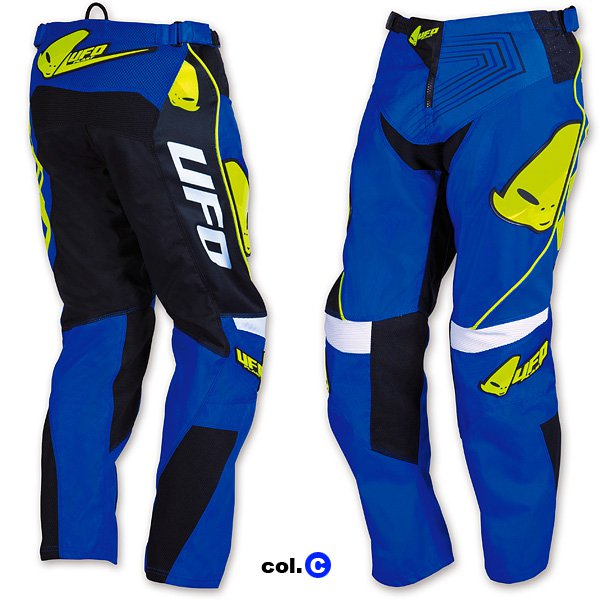 Ufo Plast Iconic cress kid trousers Blue Yellow