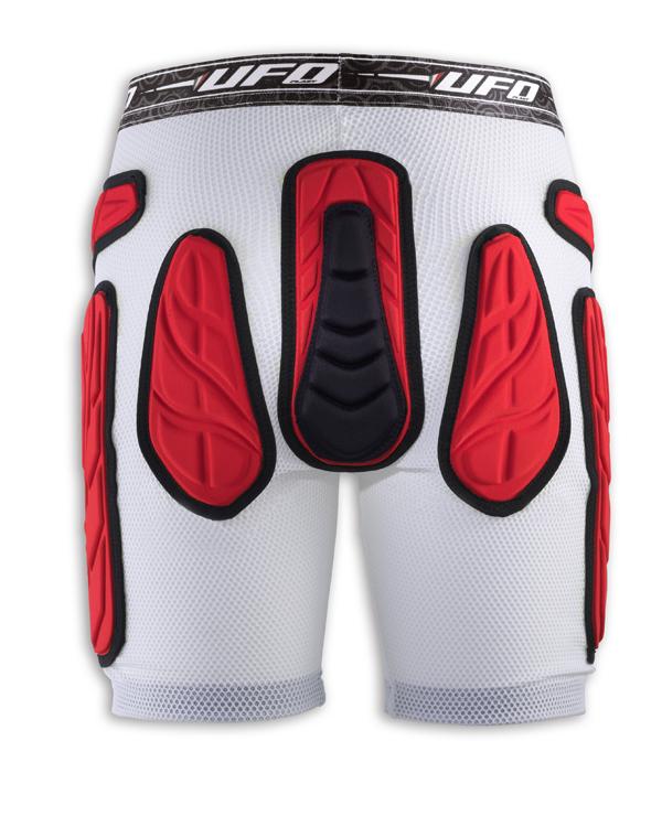 Pantaloni corti con protezioni soft e fondello Atom Ufo Plast