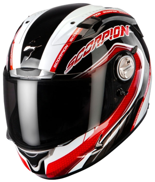 Casco integrale Scorpion Exo 1000 Air Pipeline Nero Rosso