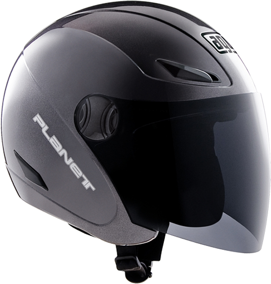 Casco moto Agv Planet Mono gunmetal