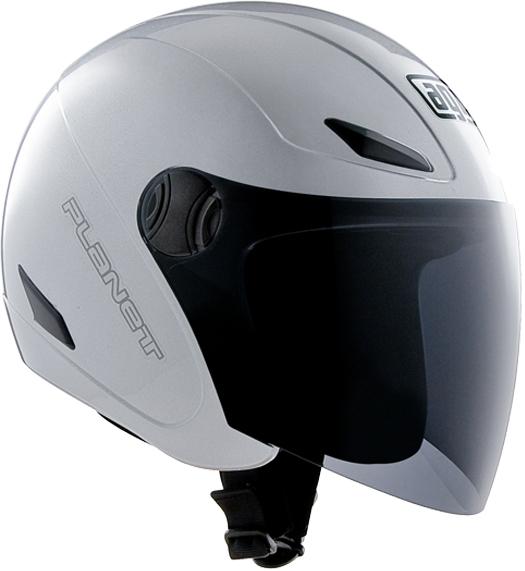 AgvPlanet mono jet helmet silver