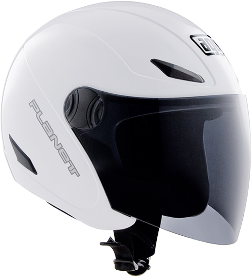 AgvPlanet mono jet helmet white