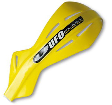 Ufo couple replacement plastics for Alu handguards Yellow