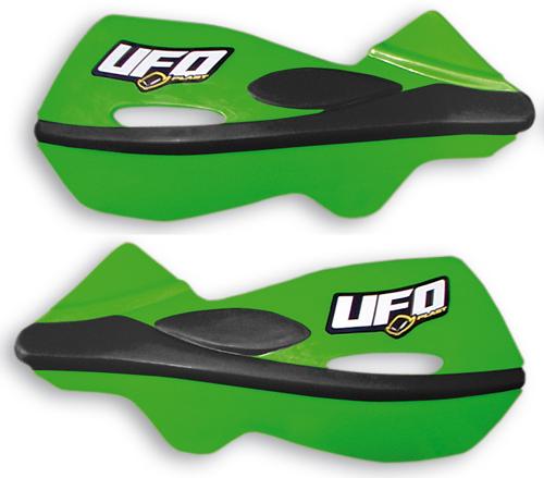 Ufo Patrol universal dual injection handguards Green