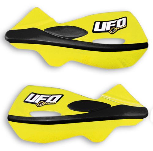 Ufo Patrol universal dual injection handguards Yellow