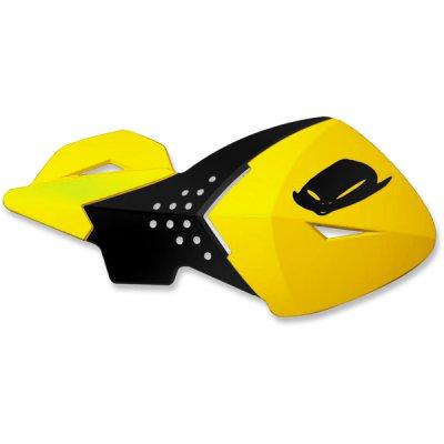 Pair of universal handguard UFO ESCALADE Yellow