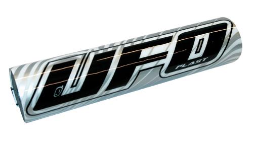 Protezione manubrio per moto cross Ufo Plast  2509 silver
