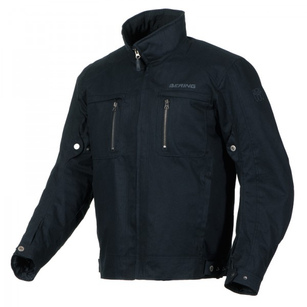 Approved motorcycle jacket Bering Gizmo Black