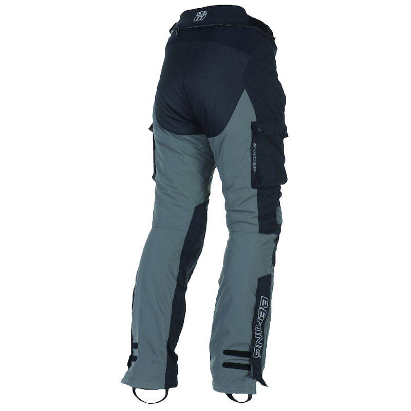 Approved Motorcycle trousers Bering Odyssee 3-layer Black Anthra