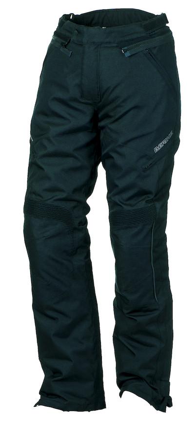 Pantaloni moto impermeabili Omologati Bering Holly Nero