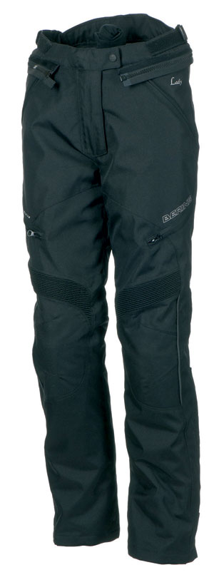Motorcycle trousers woman Approved Bering Holly Black