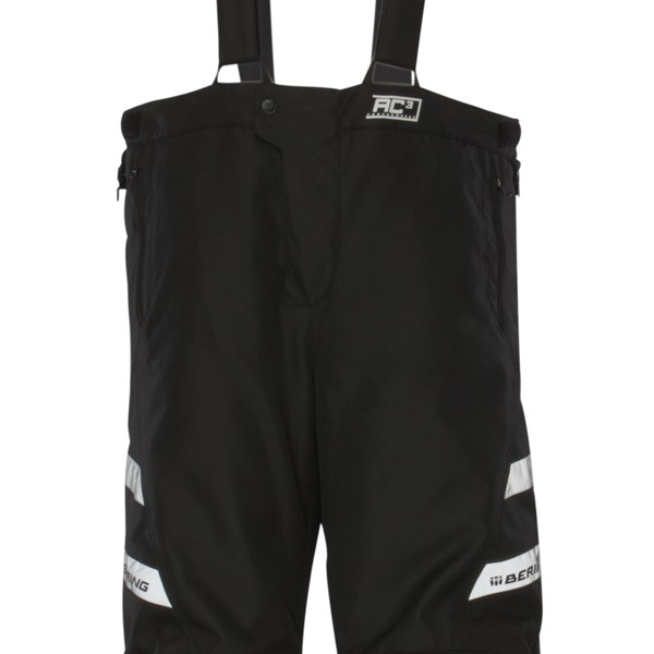 Pantaloni moto impermeabili Omologati Bering Carson Nero