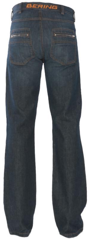 Jeans moto Omologati Bering Toma Blu Accorciato