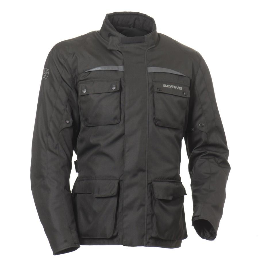 Approved Bering waterproof motorcycle jacket Black Platters