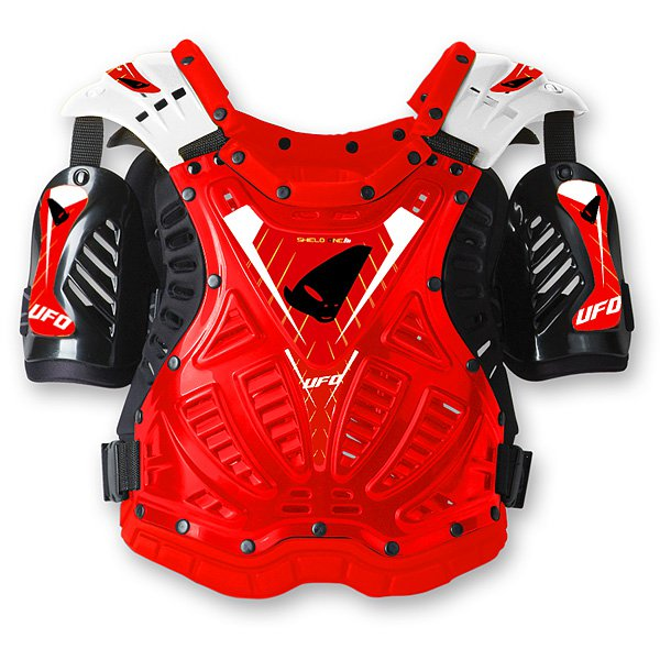Ufo Plast Shield One chest protection Red