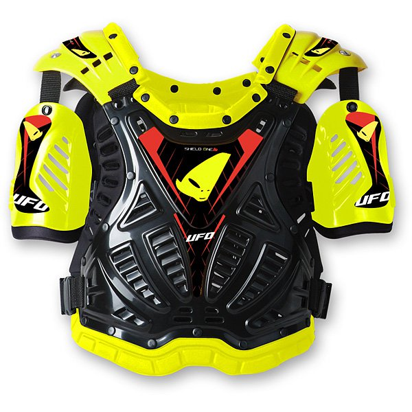 Ufo Plast Shield One chest protection Yellow Black