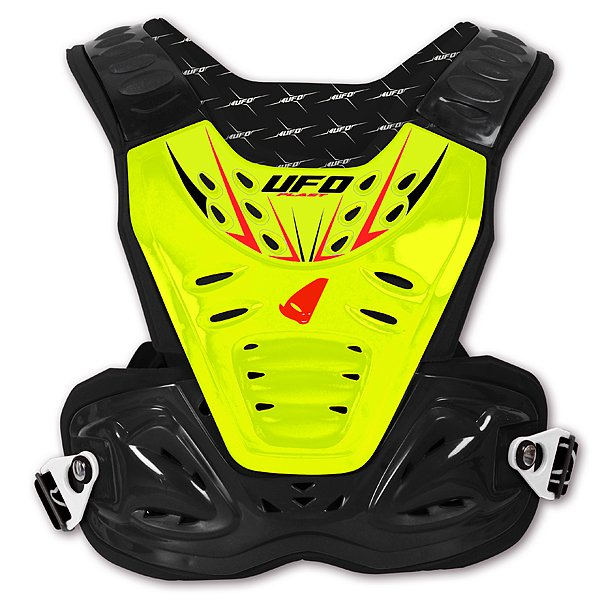 Ufo Plast Reactor 2 Evolution chest protection Yellow Black