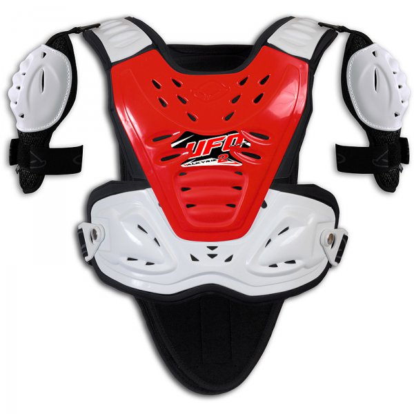 Ufo Plast Valkyrie 2 Chest protector with shoulders Short red