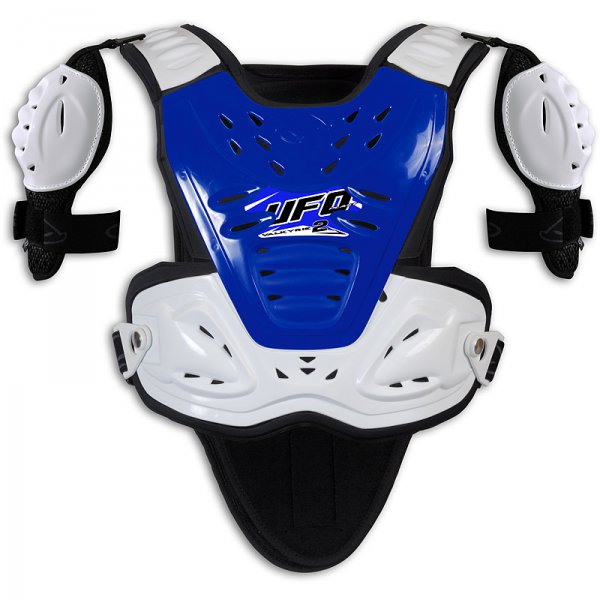 Ufo Plast Valkyrie 2 Chest protector with shoulders Short blue