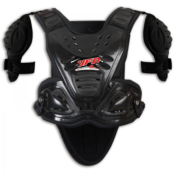 Ufo Plast Valkyrie 2 Chest protector with shoulders long black
