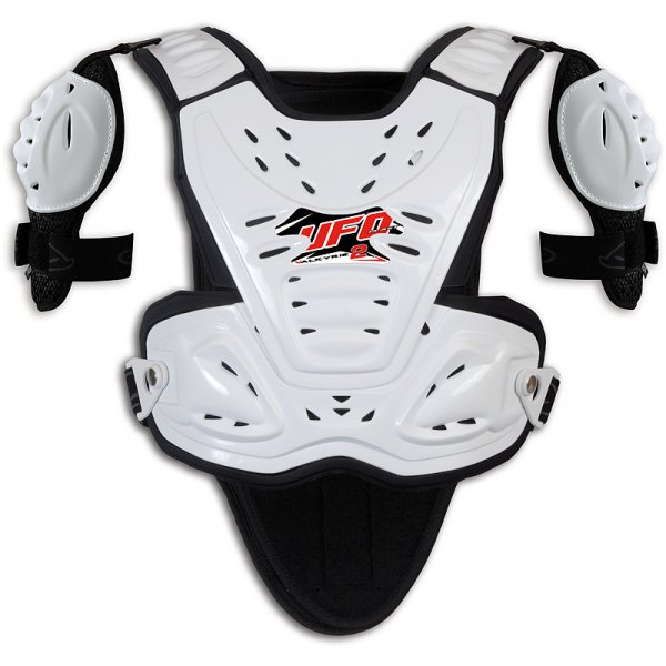 Ufo Plast Valkyrie 2 Chest protector with shoulders long white
