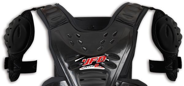 Ufo Plast Support for Reactor 2 Evolution Chest protector black