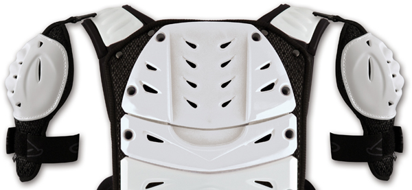 Ufo Plast Support for Reactor 2 Evolution Chest protector white