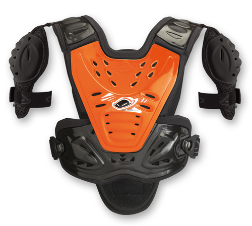 Ufo Plast Kids Valkyrie 2 chest protector vers. long orange