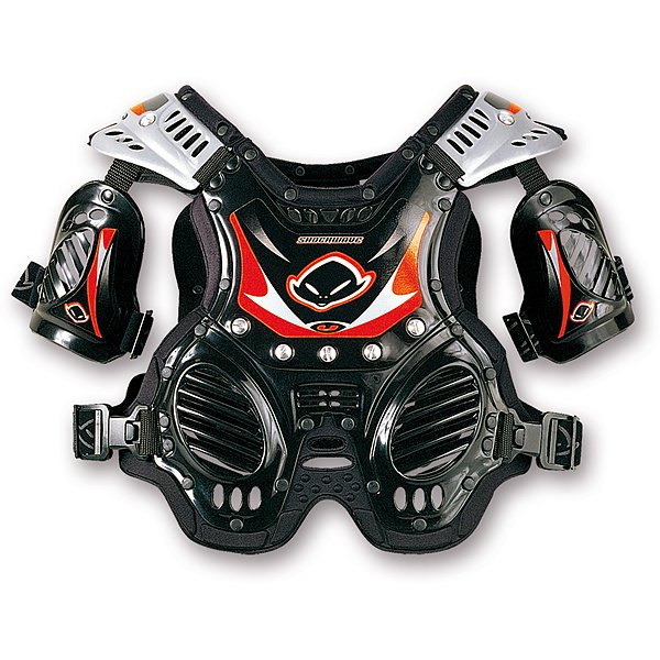Ufo Plast Shockwave 4-8 years chest protection Black