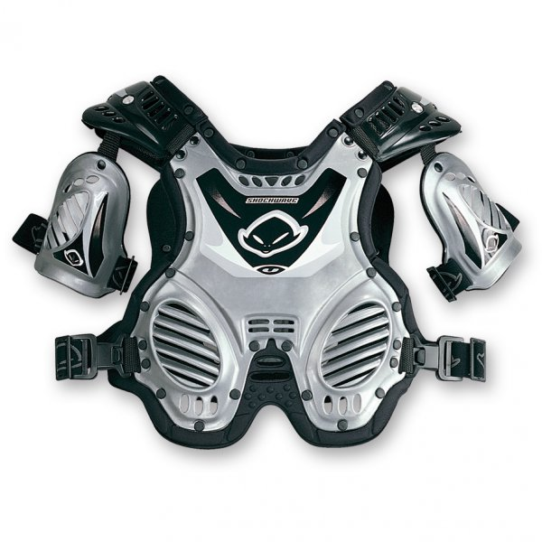 Ufo Plast Shockwave 4-8 years chest protection Silver