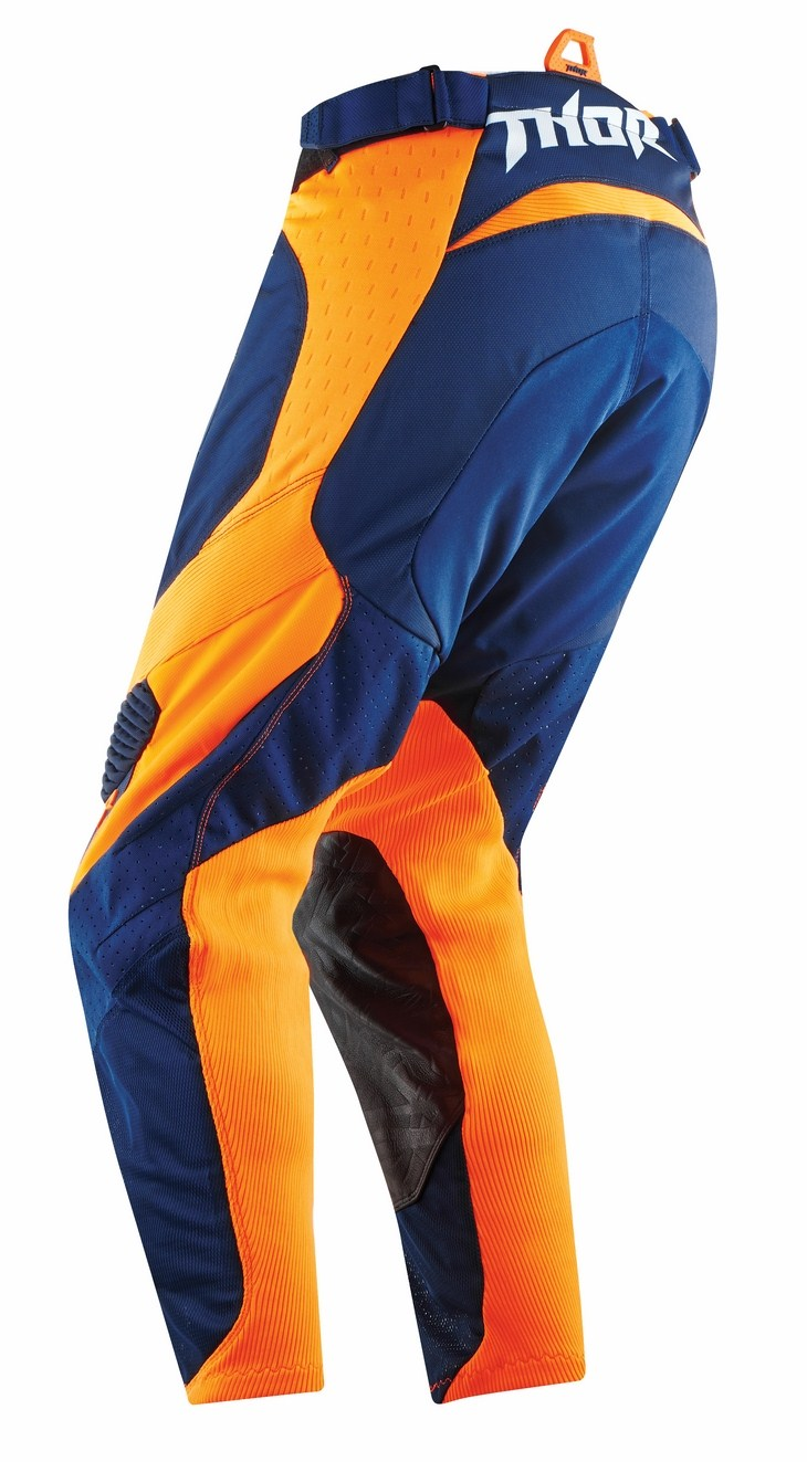 Thor Core Bend pants blue orange fluo