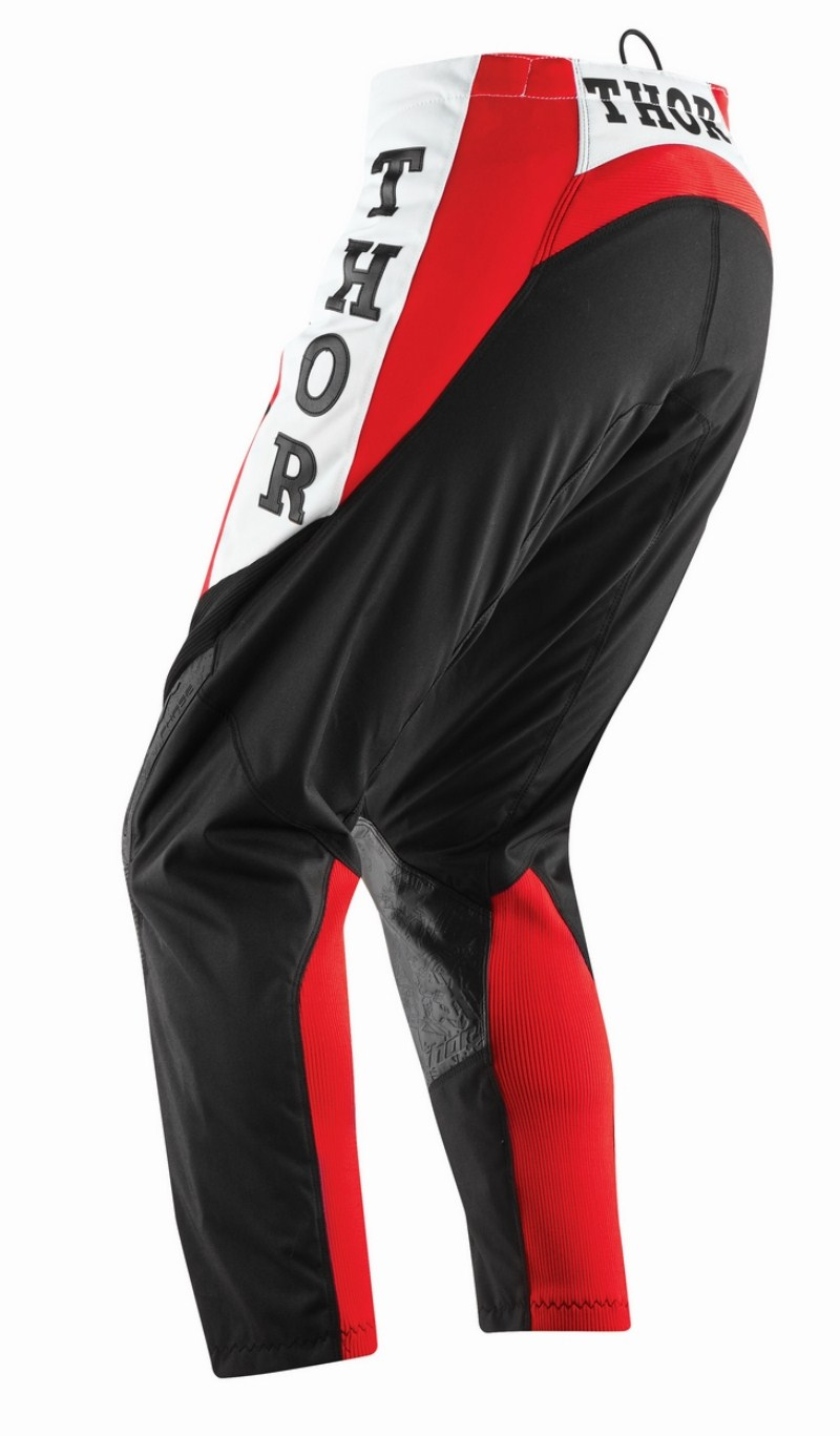 Thor Phase Pro-GP pants red black